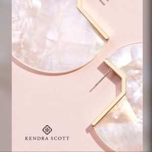 Kendra Scott Kai Ivory Mother of Pearl Earrings